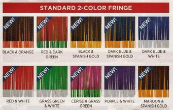 2 color fringe