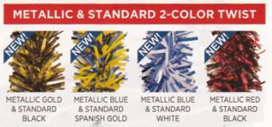 metallicstandard 2 color twist