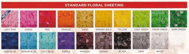 standard floral