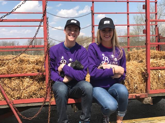 Hunter and Kaylee Farm Tour
